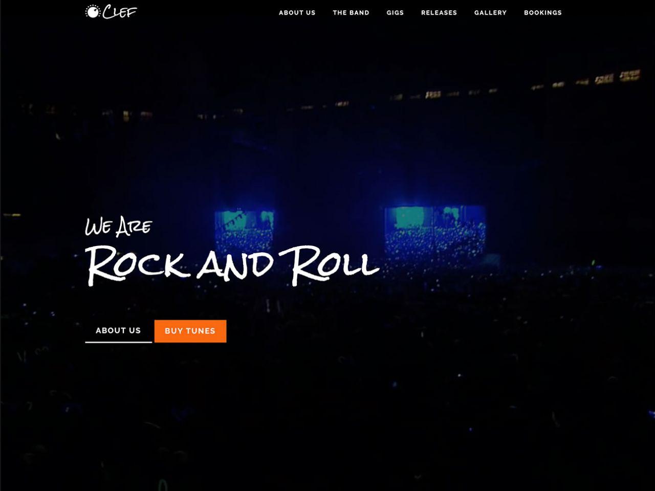Clef-音乐网站模板