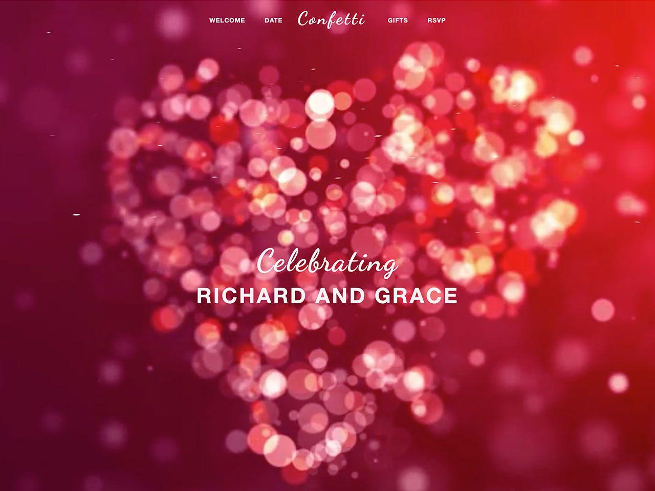 Confetti-五彩纸屑、婚庆