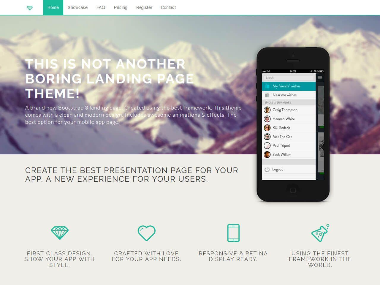 Diamond-网站模板