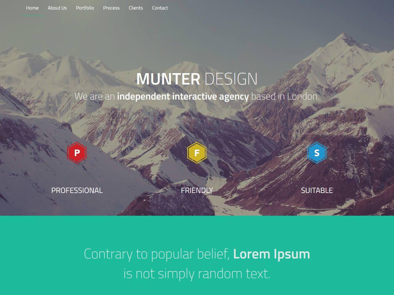Munter-引导模板