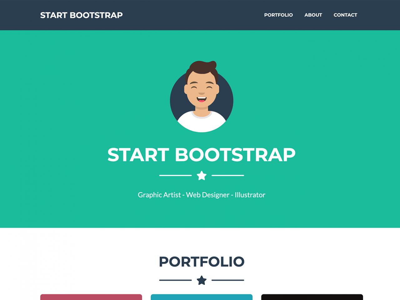 Freelancer-单页模板